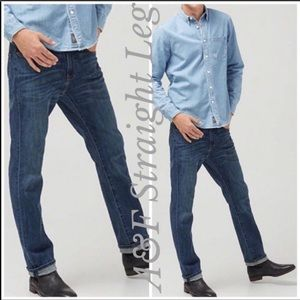 Abercrombie & Fitch Slim Straight Button Fly Jeans